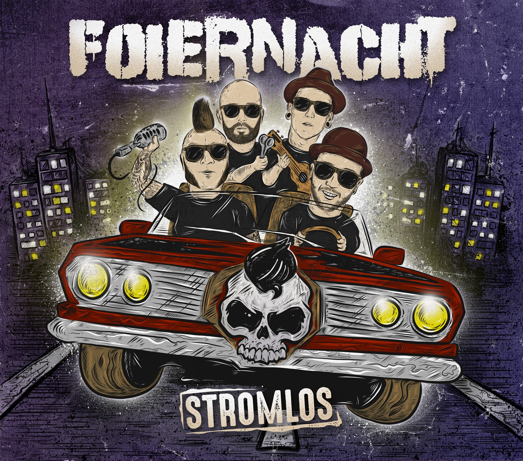 Foiernacht Stromlos CD Cover