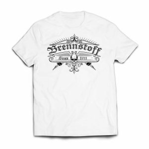 Brennstoff Band Shirt Weiss Front
