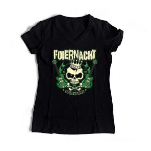 Foiernacht Frauen Shirt Guitar